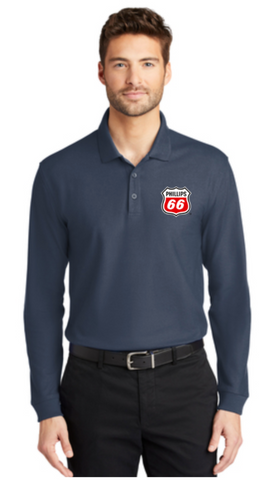 Phillips Dealer Classic Pique Long Sleeve Polo
