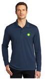 BP Dealer Dry Zone Long Sleeve Polo