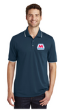 Marathon Dealer Color Tipped Polo
