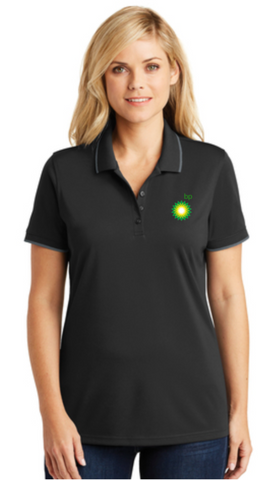 BP Dealer Ladies Color Tipped Polo