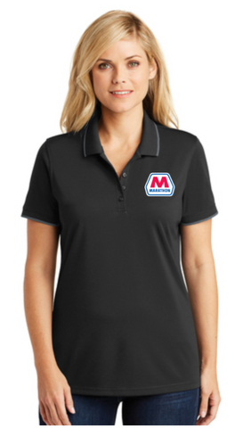 Marathon Dealer Ladies Color Tipped Polo