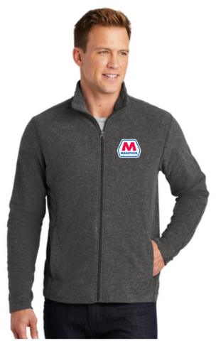 Marathon Dealer Heather Microfleece Full-Zip Jacket