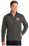 Phillips Dealer Heather Microfleece Full-Zip Jacket