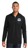 Marathon Dealer Pinpoint Mesh Quarter Zip