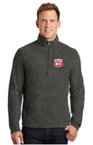 Phillips Dealer Heather Microfleece Quarter Zip Pullover