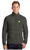 BP Dealer Heather Microfleece Quarter Zip Pullover