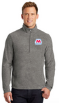 Marathon Dealer Heather Microfleece Quarter Zip Pullover