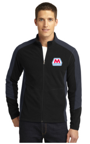 Marathon Dealer Colorblock Microfleece Jacket