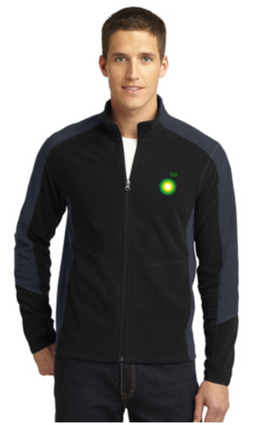 BP Dealer Colorblock Microfleece Jacket