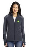 BP Dealer Ladies Colorblock Microfleece Jacket
