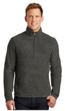Dealer Heather Microfleece Quarter Zip Pullover