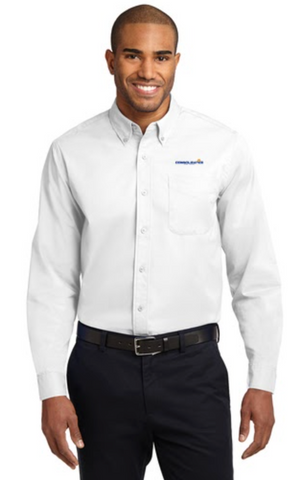 Consolidated Energy Company Button Up Shirt