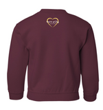 Hearts of Joy International Youth Crewneck-Limited Edition Color