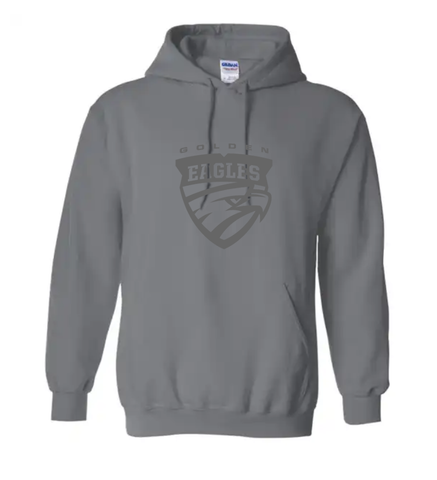 Mazz Standard Hooded Sweatshirt Shield Design