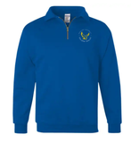 Booster Golden Eagles Circle Quarter Zip Sweatshirt