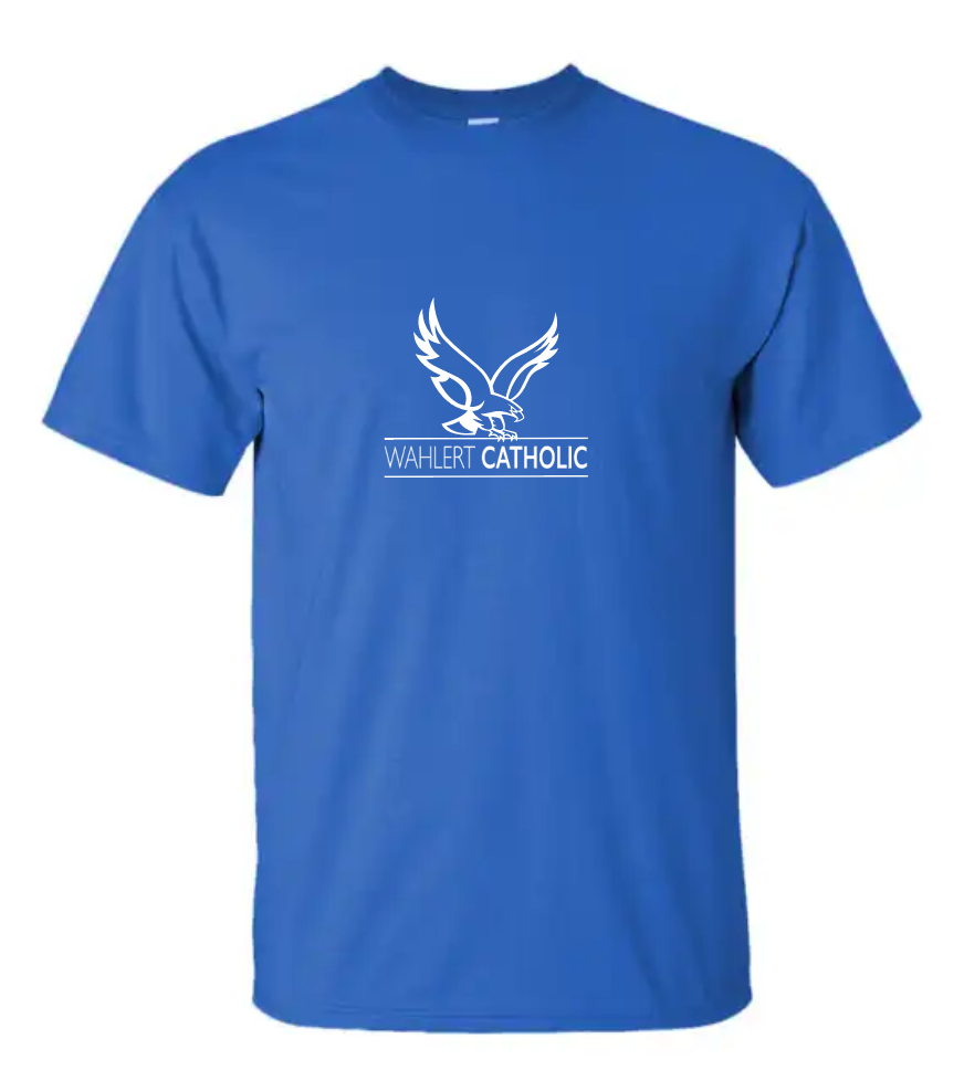 Booster Wahlert Catholic Short Sleeve Tshirt