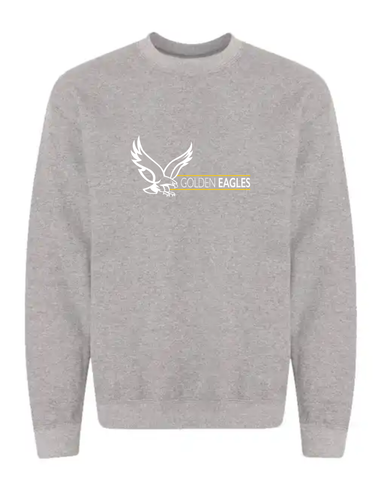 Booster Golden Eagle Horizontal YOUTH Crewneck Sweatshirt (More Colors Available)