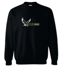 Booster Golden Eagle Horizontal Youth Crewneck Sweatshirt
