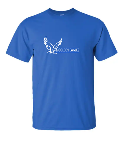 Booster Golden Eagles Horizontal Short Sleeve Tshirt (More Colors Available)