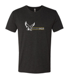 Booster Golden Eagles Horizontal Premium Triblend Short Sleeve Tshirt