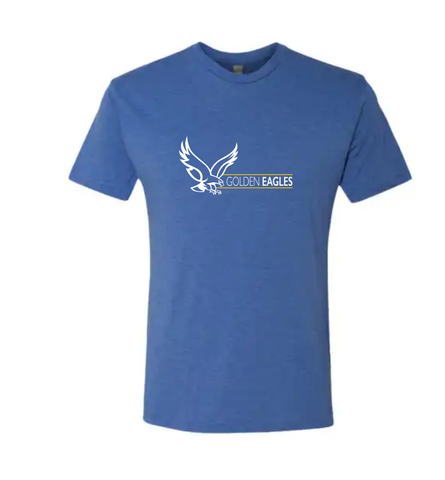 Booster Golden Eagles Horizontal Triblend Short Sleeve Tshirt (More Colors Available)