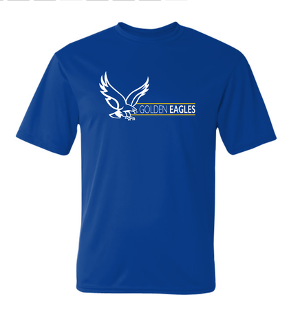 Booster Golden Eagles Horizontal YOUTH Short Sleeve Tshirt (More Colors Available)