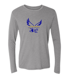 "Booster ""Pick Your Sport "" Golden Eagles Sports Premium Triblend Long Sleeve Tshirt"