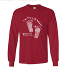 """I am Pro-Life because"" Tee Long Sleeve"