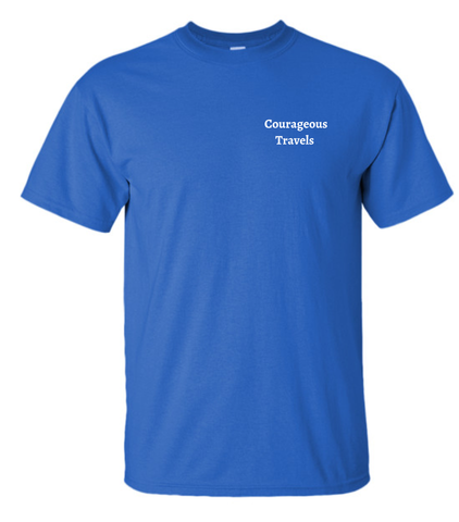 Camp Courageous Travels Ultra-Cotton Short Sleeve T-shirt
