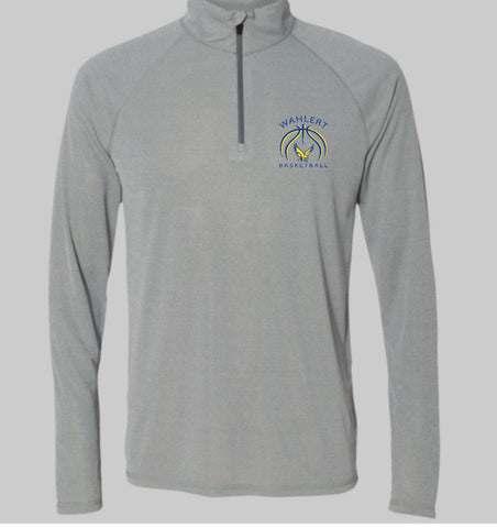 Wahlert Women's Basketball Poly Quarter Zip