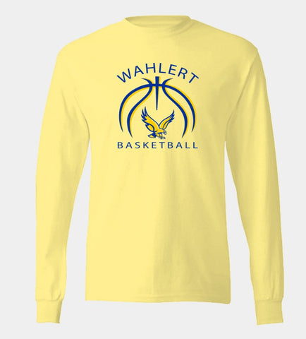 Wahlert Women's Basketball Cotton Long Sleeve T-shirt