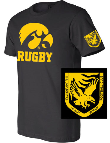 Iowa Rugby Short Sleeve T-shirt