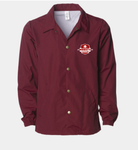Marquette Water-Resistant Windbreaker Full Button Jacket