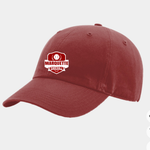 Marquette Cardinal Red Washed Chino Hat