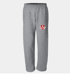 Marquette DryBlend® Open-Bottom Sweatpants with Pockets