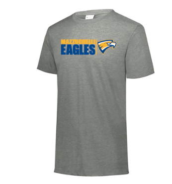 Triblend Mazzuchelli Eagles Short Sleeve Tshirt
