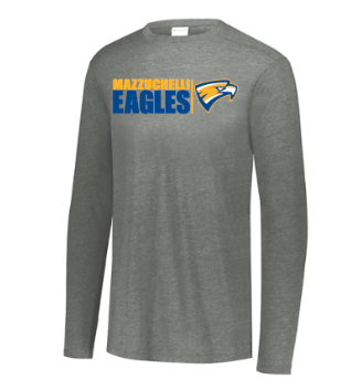 Mazzuchelli Eagle Head Triblend Long Sleeve (youth sizes)
