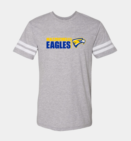 Mazzuchelli Eagles Football Jersey Short Sleeve Tshirt