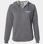 Wahlert Dance Pigment Washed Full Zip (other colors available)