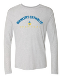 Wahlert Catholic Premium Triblend Long Sleeve Tshirt