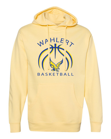 Wahlert Women's Basketball Hooded Sweatshirt- 2 color options
