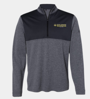 Mulgrew Oil Adidas Quarter-Zip Pullover (More Colors Available)