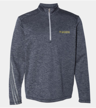 Mulgrew Oil Adidas Heathered Quarter-Zip Pullover (More Colors Available)