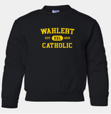 Booster Wahlert Retro YOUTH Crewneck Sweatshirt (More Colors Available)