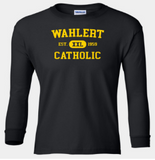 Booster Wahlert Retro YOUTH Long Sleeve Tshirt (More Colors Available)