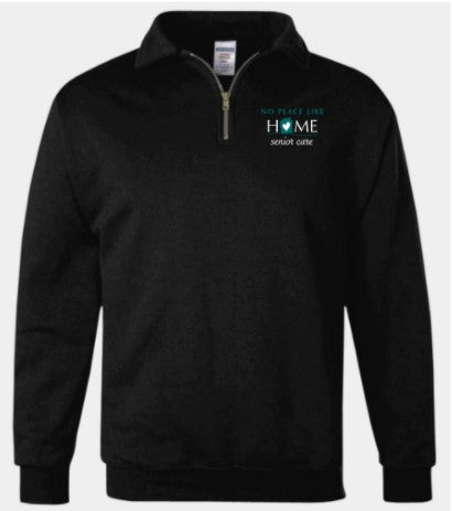 No Place Like Home- quarter zip (2 colors)