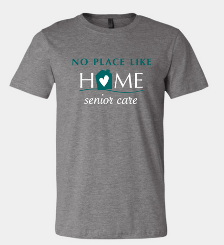 No Place Like Home- full front design t-shirt (3 colors)