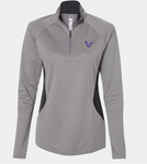 Booster Golden Eagles Circle Women's Adidas Quarter Zip (More Colors Available)