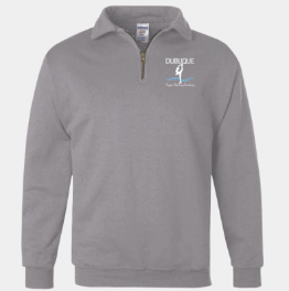 DFSA 1/4 zip sweatshirt: spirit wear (2 colors)