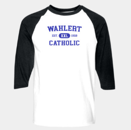 Booster Wahlert Retro 3/4 Sleeve Tshirt (More Colors Available)
